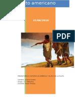 Analice Las Distintas Corrientes de Interpretación Sobre El Poblamiento Americano
