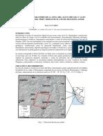 Potencial Exploratorio de La Zona Del Alto Chicama y Alto