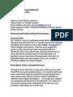 comprehensive unit document  c yisrael