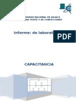 Informe Practica Capacitancia