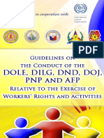 Exercise of Workers Rights and Activities