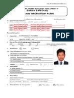 Fellow Information Form -2016 a.baiqunib