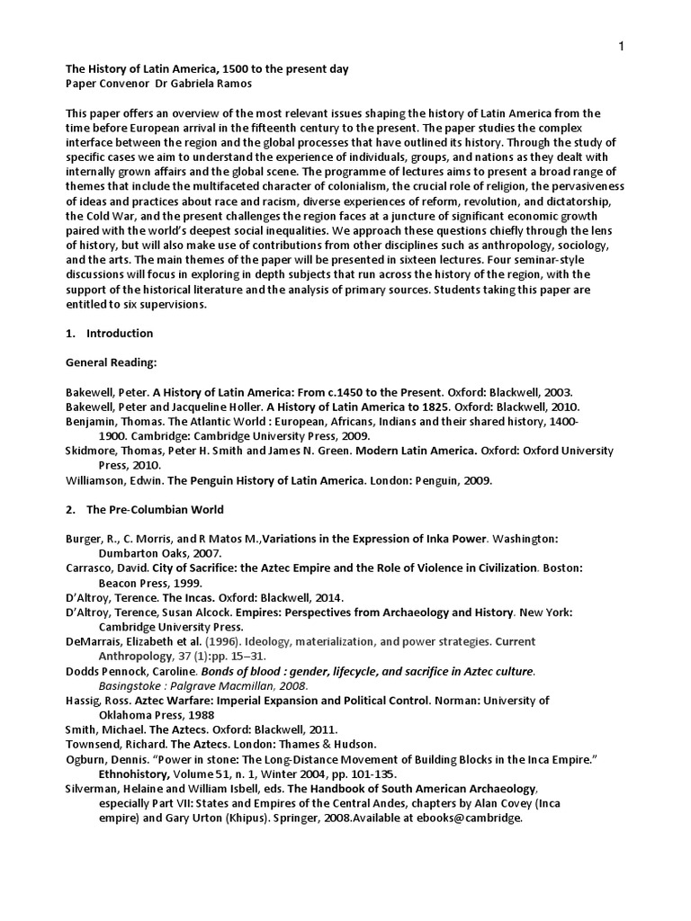 Paper 27 latinamerica gabriela ramos new spain latin america fandeluxe Choice Image