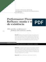 Performance Rosto