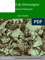 Ann Hartle-Michel de Montaigne_ Accidental Philosopher-Cambridge University Press (2003)