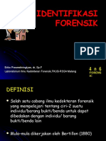 Ep, Identifikasi for i