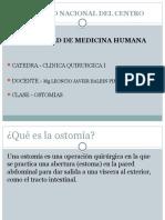 Clase Ostomias Univ. Nac.centro Peru