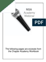 Academy Webinar Handout