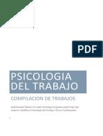 antologia Psicologia industrial