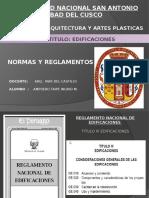 RNE.TITULO III edificaciones.pptx