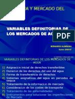 Presentación Mercado Del Agua en Españ