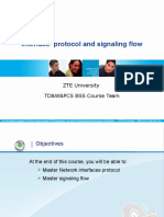 Interface Protocol and Signaling Flow