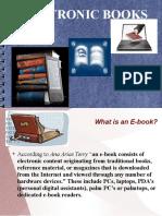Role of E-books in Education