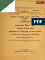 Anales Científicos Paraguayos publicados por el Dr. Moises Bertoni serie II numero 2, Puerto Bertoni año 1916