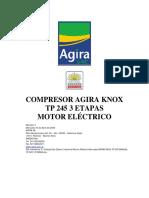 Manual Agira Knox Tp 245 3 Etapas Motor Electrico