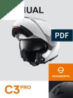 Schubert Helmet Sh15032 Mn c3pro Ansicht