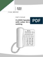 Telefono CL2909