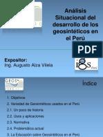 Alza-Analisis Situacional Del Desarrollo de Geosinteticos en El Peru
