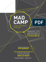 MADCamp Programme Booklet