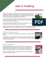Auditing Factsheet SEDEX