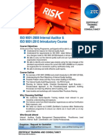 Risk Management ISO 9001