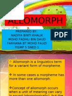 ALLOMORPH