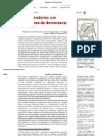 O Neoliberalismo, Um Sistema Fora Da Democracia - Pierre Dardot e Christian Laval