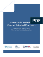 Annotated Cambodian Code of Criminal Procedure Eng