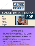Cause-effect Essay Presentation