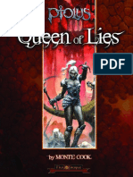 Queen of Lies Lvl 11 Pathfinder