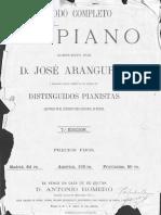 Metodo Completo de Piano_Jose Aranguren