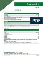 Air Freshener Gel Formulations No 084