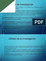 Medologia de La Investigacion I Tipos de Investigación.