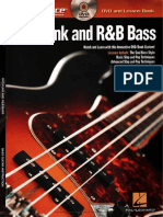 Hal Leonard - At a Glance. Funk and R&B Bass