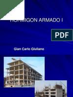HORMIGON ARMADO I Introduccion Materiales2016