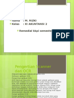 Pengertian Scanner Dan OCR