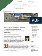 Timeline   Serbian Medieval History