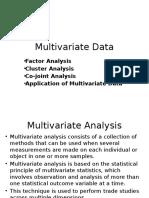 Unit 4 Multi Variate Data