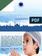 Islamic Prayer-How to Perform Namaz