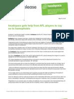 Headspace-AFLPA
