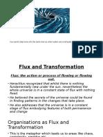 Flux & Transformation