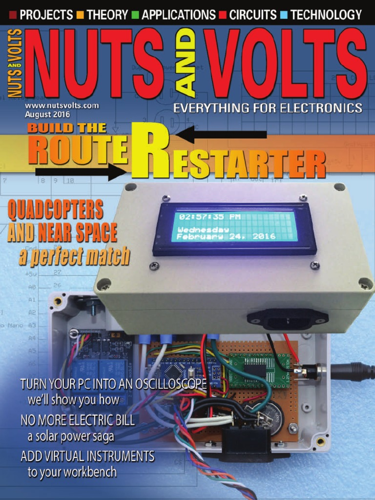 Nuts Volts 2016 08 Inertial Navigation System Gyroscope How To Wire A Shed For Electricity Wiring Diagram Dpdt Toggle