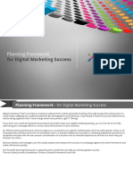 Planning Framework for Digital Marketing Success