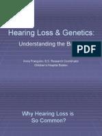 Hearing Loss Genetics II Web