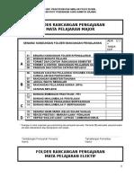 PIPR-02 Senarai Kandungan Folder Rancangan Pengajaran - Ok