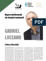 22 Plus Gabriel Liiceanu, Ginditor de Dreapta