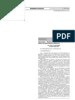 Nuevo Reglamento de Seguridad y Salud en Minería - Decreto Supremo 024-2016-EM