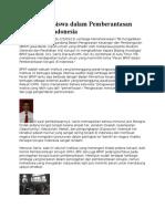 Peran Mahasiswa Dalam Pemberantasan Korupsi Di Indonesia
