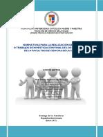 Normativas de Investigación FCS