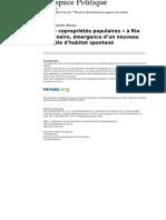 Maíra Machado-Martins - Les Copropriétés Populaires à Rio de Janeiro, émergence d'un nouveau modèle d'habitat spontané.pdf